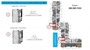 Sale DownCondoRama9, RCA, Petchaburi : Sale down payment, Condo Life Asoke Hype, quality location, Rama 9 area from AP