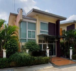 For SaleHouseAri,Anusaowaree : 2 storey house for sale, the Relax Bang Chan Village, Khlong Sam Wa, near the train