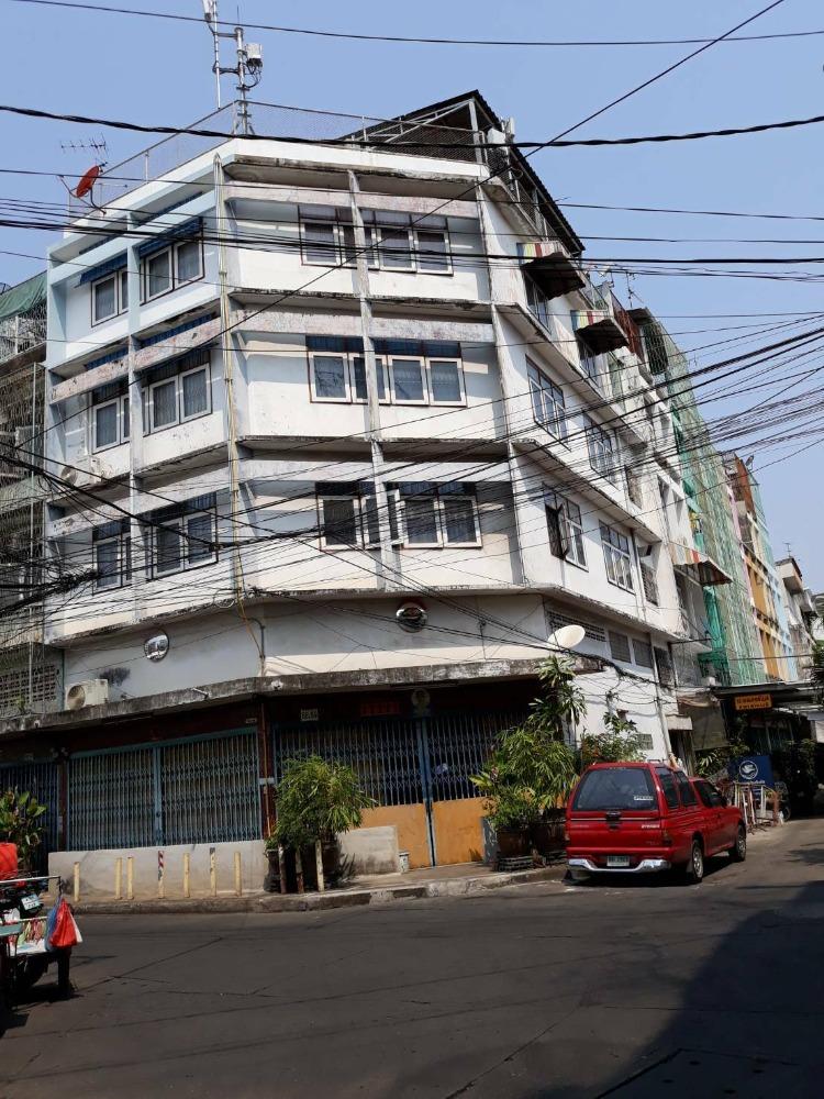 ขายตึกแถว อาคารพาณิชย์เยาวราช บางลำพู : ขาย กิจการ อะไหล่รถยนต์ พร้อมอาคารพาณิชย์ ตึกแถว 5 ชั้น รองเมือง นาคบำรุง ถนนบำรุงเมือง คลองมหานาค เขตป้อมปราบศัตรูพ่าย AN101