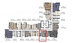ขายคอนโดราชเทวี พญาไท : 🔺ถูกที่สุดในโครงการ🔺The Address Siam-Ratchathewi 1ห้องนอน 31.5ตรม. เพียง 5.99ล้านบาทเท่านั้น❗❗ 📞Tel :065-9863109 Pukkie