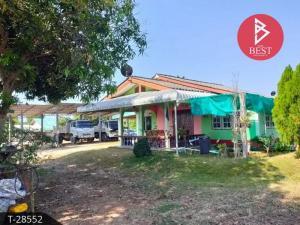 For SaleLandChanthaburi : Land for sale with houses, area 7 rai, Soi Khung Takhian 52, Na Yai Am, Chanthaburi.