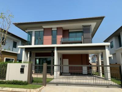 For SaleHouseRama5, Ratchapruek, Bangkruai : ขาย บ้านเดี่ยว  หมู่บ้าน : บุราสิริ ราชพฤกษ์ 345 บ้านสภาพใหม่มาก