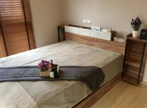 For RentCondoPinklao, Charansanitwong : For rent, Plum Condo Pinklao Station is a corner room, Building A, 26 sqm., 5th floor, same floor as fitness/swimming pool.
