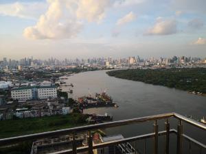 For SaleCondoRama3 (Riverside),Satupadit : Condo for sale Supalai Prima Riva Rama 3 North high floor