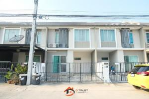 For SaleTownhouseSamrong, Samut Prakan : Sale Townhome Pruksa Ville 83 Sub Boonchai Srinakarin 18.7 sq m. Near Srinakarin BTS Station
