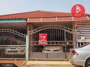 For SaleHouseCentral Provinces : Twin house for sale, Phra Pin 9 Village, Rojana, Ayutthaya