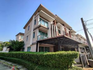 For SaleTownhouseVipawadee, Don Mueang, Lak Si : ขายบ้านทาวน์โฮม 3 ชั้น หลังมุม แต่งสวยมาก ที่ Town Avenue 60s, 3 ห้องนอน 3 ห้องน้ำ หน้ากว้าง 5 เมตร 7.99 ล้านบาท