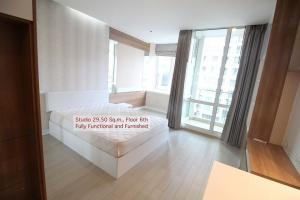 For RentCondoRama9, RCA, Petchaburi : Condo for rent TC Green 6th floor AOL-F72-2102003406