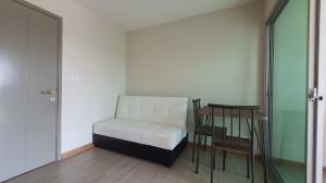 For RentCondoRangsit, Patumtani : For rent Be Condo, near Bangkok University, Rangsit, new room, fully furnished