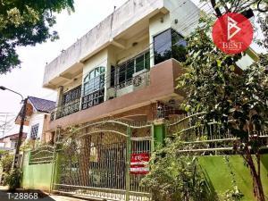For SaleHousePinklao, Charansanitwong : 3-storey detached house for sale, Soi Bang Phrom 18, Charansanitwong 35, Taling Chan, Bangkok