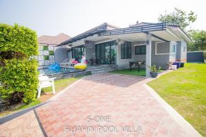 For SaleHouseHua Hin, Prachuap Khiri Khan, Pran Buri : House for sale, pool villa, 100 square wa, 5.7 million baht, ready to do business for daily rental