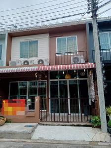For SaleTownhouseRama5, Ratchapruek, Bangkruai : Urgent sale !! Sell at a loss !! 2-storey townhome Areeya Village The Color Tiwanon Phase 3