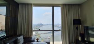 For RentCondoBang Sue, Wong Sawang : For rent 333 riverside, 2 bedrooms, south river view.