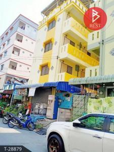 For SaleBusinesses for saleSamrong, Samut Prakan : 5-storey apartment for sale, Bang Phli Housing, Mueang Mai, Samut Prakan