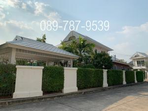 For SaleHouseRama 2, Bang Khun Thian : Detached house for sale, Sarin City, The Lake Ville, Rama2, area 162 sq.wah