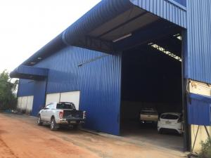 For RentWarehouseLadkrabang, Suwannaphum Airport : BST091 Warehouse for rent / Factory for rent Total usable area 400 sq.m., Saphan Sung area, rental price 48,000 baht / month