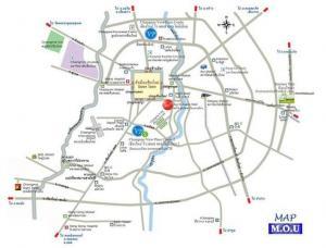 For SaleCondoChiang Mai, Chiang Rai : ** Condo 50 sq m, large room near the airport + Robinson Airport Mahidol Pa Daet