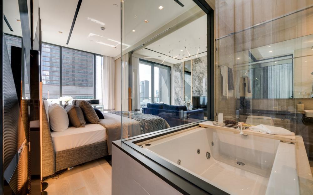 For SaleCondoSilom, Saladaeng, Bangrak : Urgent! Luxury condo for sale, Silom, Ashton silom (Aston Silom), Chong Nonsi, 1 bed, big site, 49 sq m, high floor, tangible price 9.6 million baht (last 2 rooms)
