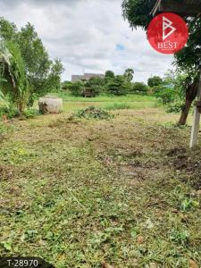 For SaleLandSuphan Buri : Land for sale in an area of 1 ngan, 95 square meters, next to the Tha Chin River, Suphanburi.