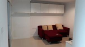For RentCondoRama9, RCA, Petchaburi : Code CD001 for rent, ready to move in, beautiful room. Carry bags to move in. Condo Lumpini Place Rama 9, 1 bedroom.