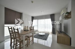 For RentCondoRama9, RCA, Petchaburi : Aspire rama9 (for rent, 2 bedrooms, 66sq.m), high floor, good view *** happy to serve.
