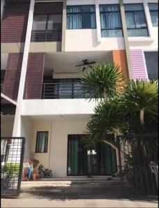 For SaleTownhouseThaphra, Wutthakat : Sell  3-storey townhome, Signature Village, Kanlapaphruek Road, Bang Khae AN102