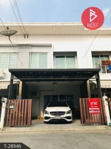 For SaleTownhouseRama5, Ratchapruek, Bangkruai : 2 storey townhome for sale, the Pleno Village Rama 5-Pinklao, Nonthaburi