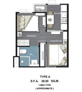 For RentCondoPinklao, Charansanitwong : Condo for rent, Blessure Charan 96/1 (Bleisure Charan 96/1)