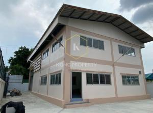 เช่าโกดังราษฎร์บูรณะ สุขสวัสดิ์ : ให้เช่า โรงงาน / โกดัง พร้อมออฟฟิส เขตทุ่งครุ  กรุงเทพ Factory / Warehouse for rent with office, Suksawat Road 70, Thung Khru District