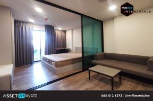 For RentCondoVipawadee, Don Mueang, Lak Si : [For rent] Modiz Interchange, good location, next to the train, fully furnished, 1 bedroom, 1 bathroom (1Bedroom), size 24.13 sqm., 2nd floor, room facing north.