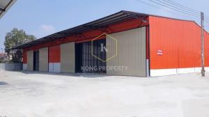 For RentWarehouseRangsit, Patumtani : Warehouse / factory for rent, 250 sq m, Lam Luk Ka district, Pathum Thani province