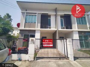 For SaleTownhouseSamrong, Samut Prakan : Townhouse for sale with tenants. Pruksa Ville 66/1 Bangna-Namdaeng Village, Samut Prakan