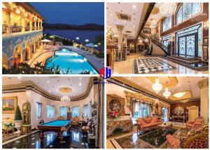 For SaleHousePattaya, Bangsaen, Chonburi : Selling a luxury mansion, plus assets in the house, about 100 million, complete the area of 2 rai, next to the bay, mountain view, for sale 109 from 150 million Banglamung