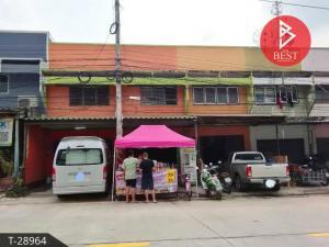 For SaleShophousePattaya, Bangsaen, Chonburi : 2 storey commercial building for sale, Sriracha, Chonburi