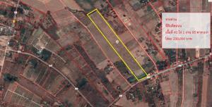 ขายที่ดินชะอำ เพชรบุรี : S1101ขายที่ดินติดถนน  ต.ห้วยทรายเหนือ อ.ชะอำ จ.เพชรบุรี คุณเอ็ม 097-414-6165
