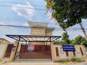 For SaleHouseNawamin, Ramindra : 3-storey detached house for sale, Sai Mai 76, Grade A material, strong & durable, brand new, near Sarasathavita Saimai School