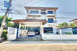 For RentHouseRama9, RCA, Petchaburi : House for rent, 3 floors, Rama 9 Road, near The Nine, Rama 9.