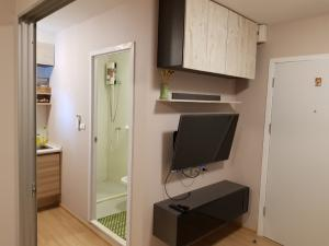 For RentCondoChengwatana, Muangthong : For rent ... nice room, nice atmosphere, good atmosphere, great price at Plum condo chaengwattana Can make an appointment to fight the real room every day