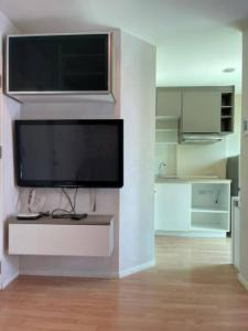 For RentCondoOnnut, Udomsuk : Condo for rent, beautiful room, ready to move in Fully electrical appliances Lumpini Ville On Nut 46 23 sqm. Ready to visit.