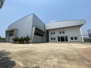 For RentFactoryMahachai Samut Sakhon : Rent a factory / warehouse with land 11-1-39 rai, area 5,200 sq m, transformer 500 KVA, Ban Phaeo District Samut Sakhon, rental price 550,000 baht / month