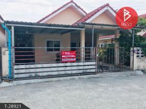 For SaleHousePattaya, Bangsaen, Chonburi : House for sale Muang Thong Land and House Village