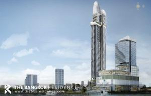 ขายคอนโดพระราม 3 สาธุประดิษฐ์ : Super Luxury Condo!! คอนโดหรูริมแม่น้ำ 2B2B ใกล้ BTS สะพานตากสิน Canapaya Residences @18.34MB