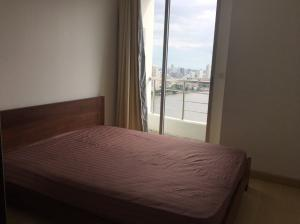 For RentCondoWongwianyai, Charoennakor : Condo for rent Supalai River Place fully furnished (Confirm again when visit). Size 53 SQM.  1 bed1 bath.