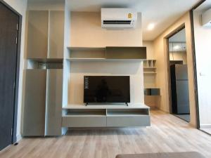 For RentCondoBang Sue, Wong Sawang : LPA-21-047 *** Urgent rent, Niche Pride Taopoon Interchange project, 1 bedroom, 1 bathroom, size 28 sq m, 24th floor, fully furnished, ready to move in, rent 13,500 baht / month, close to MRT Tao Poon.