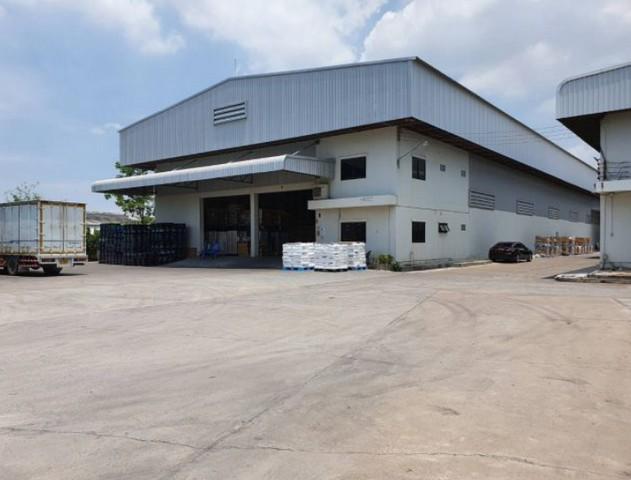 For RentFactoryPattaya, Bangsaen, Chonburi : Factory for rent with warehouse, Phan Thong District, Chonburi, Purple area Near Amata Nakorn Industrial Estate
