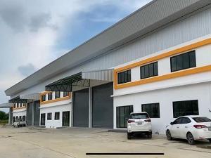 เช่าโรงงานนครปฐม พุทธมณฑล ศาลายา : ให้เช่าอาคารโกดังคลังสินค้าสร้างใหม่ 470 ตร.ม พื้นรับน้ำหนัก 3ตัน/ตร.ม ออฟฟิศ ตำบลไร่ขิง อำเภอสามพราน จังหวัดนครปฐม ราคาเช่า 60,000 บ/ด