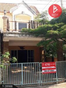 For SaleTownhousePattaya, Bangsaen, Chonburi : Townhouse for sale Prapatsorn Village, Sriracha, Chonburi
