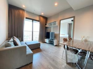 For RentCondoLadprao, Central Ladprao : For rent, Whizdom Avenue Ratchada Ladprao 2 bedrooms, 2 bathrooms, high floor, large size, fully furnished room, ready to move in, make an appointment, call 065-979-5246, postter.