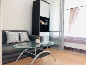 For RentCondoChengwatana, Muangthong : For rent Lumpini Ville Chaengwattana-Pakkred price 6,500, 25th floor