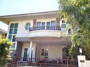 เช่าบ้านลาดกระบัง สุวรรณภูมิ : ให้เช่าบ้านเดี่ยว 2 ชั้น หมู่บ้านศุภาลัย การ์เด้นวิลล์ สุวรรณภูมิ ซอยลาดกระบัง 54 บ้านสวยมาก เฟอร์นิเจอร์ครบ แอร์ 3 เครื่อง อยู่อาศัย เลี้ยงสัตว์ได้